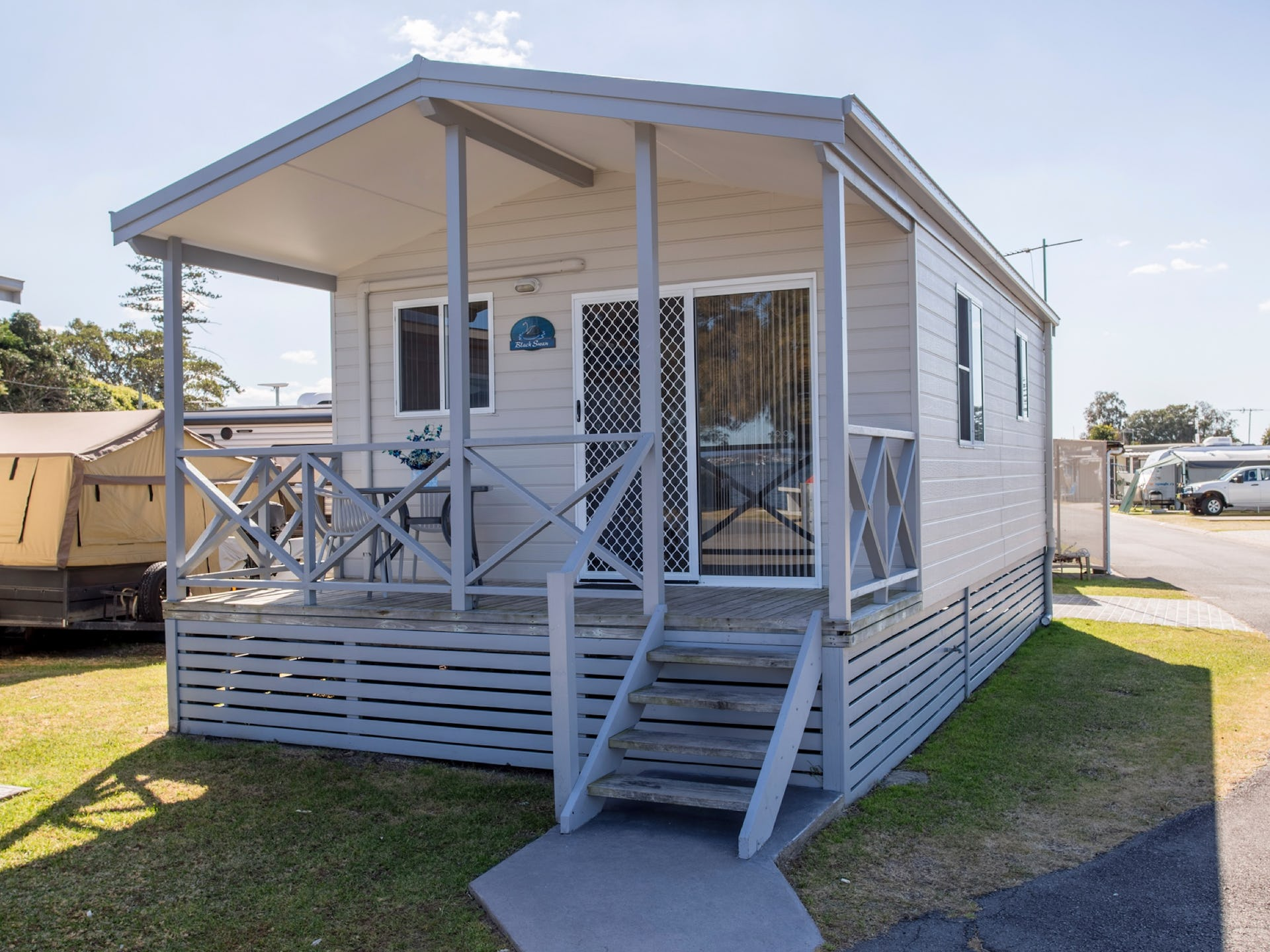 Villas Cabins And Camping Sites At Belmont Lake Mac